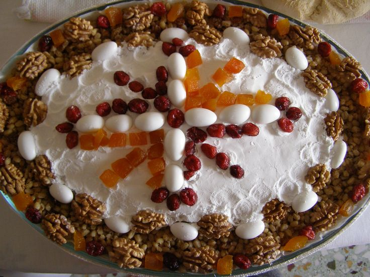 Kollyva I made for our memorial in Mouzaki. Thanks for posting... Κύριε Ἰησοῦ Χριστέ, Υἱὲ τοῦ Θεοῦ, ἐλέησόν με τὸν… The Eastern Orthodox Facebook: https://www.facebook.com/TheEasternOrthodox Pinterest The Eastern Orthodox: http://www.pinterest.com/easternorthodox/ Pinterest The Eastern Orthodox Saints: http://www.pinterest.com/easternorthodo2/