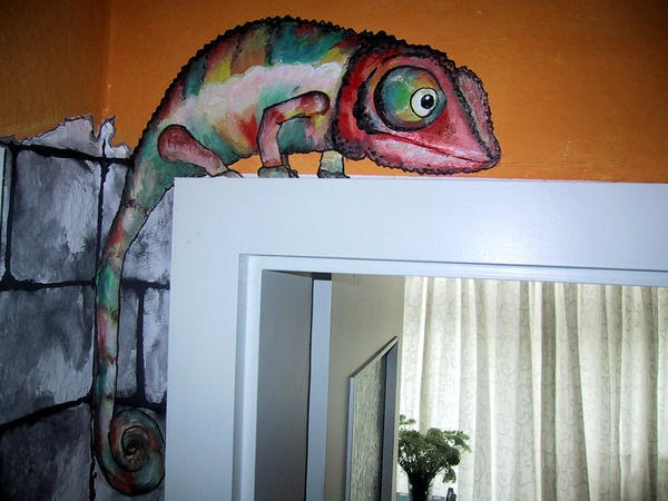 Die Besten 25+ Wandbemalung Ideen Auf Pinterest   Wandmalerei