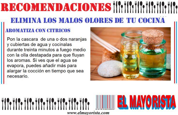 Quieres que tu cocina huela delicioso, aquí una recomendación de como hacer un ambientador natural #elmayorista www.elmayorista.com