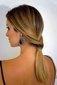 Resultado de imagem para penteados simples cabelos lisos longos