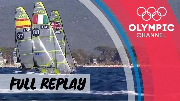 RE-LIVE | Sailing World Cup Series 2017 Hyères (FRA)  | Classes:  49er, ...