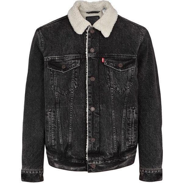the 25 best sherpa denim jacket mens ideas on pinterest levis sherpa jacket mens levi denim. Black Bedroom Furniture Sets. Home Design Ideas