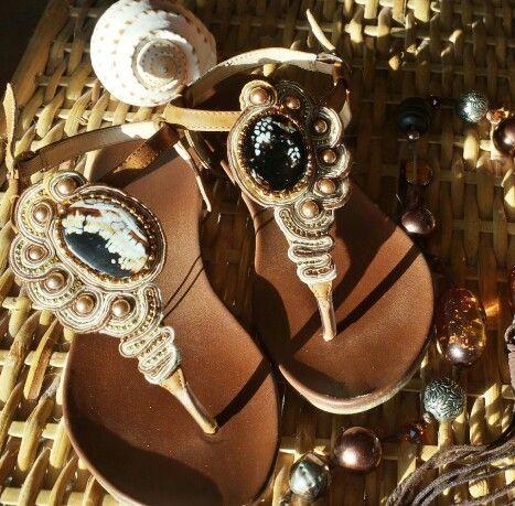 Shoes handmade soutache
