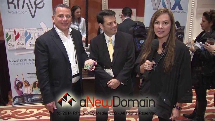 aNewDomaintv CES 2014 Vapor Corp Booth