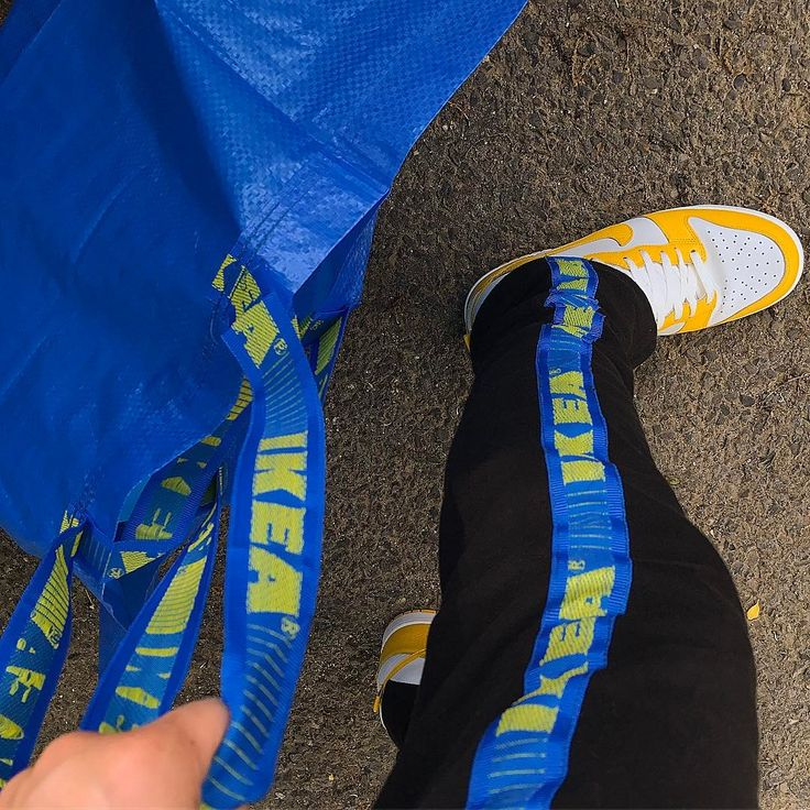 So, people are making clothes out of IKEA bags now – Jennifer Hillenbrand