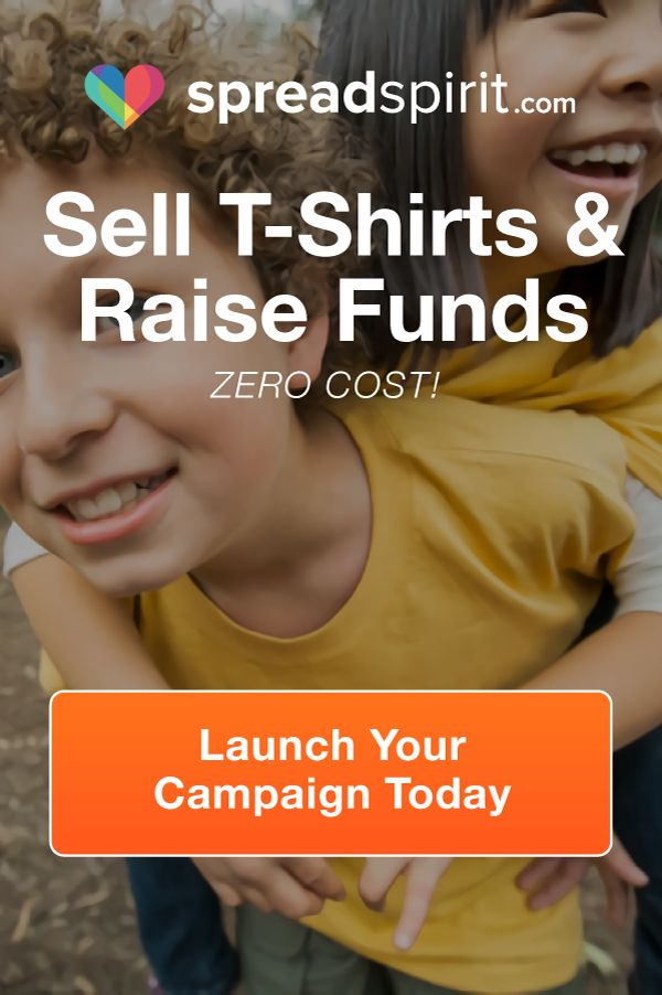 12 best t shirt fundraising spreadspirit images on for Create and sell t shirts