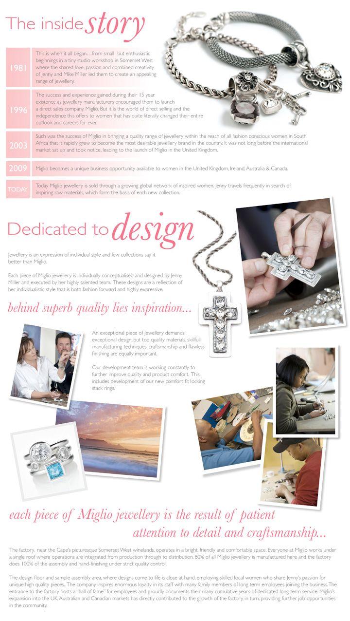 About Miglio Designer Jewellery