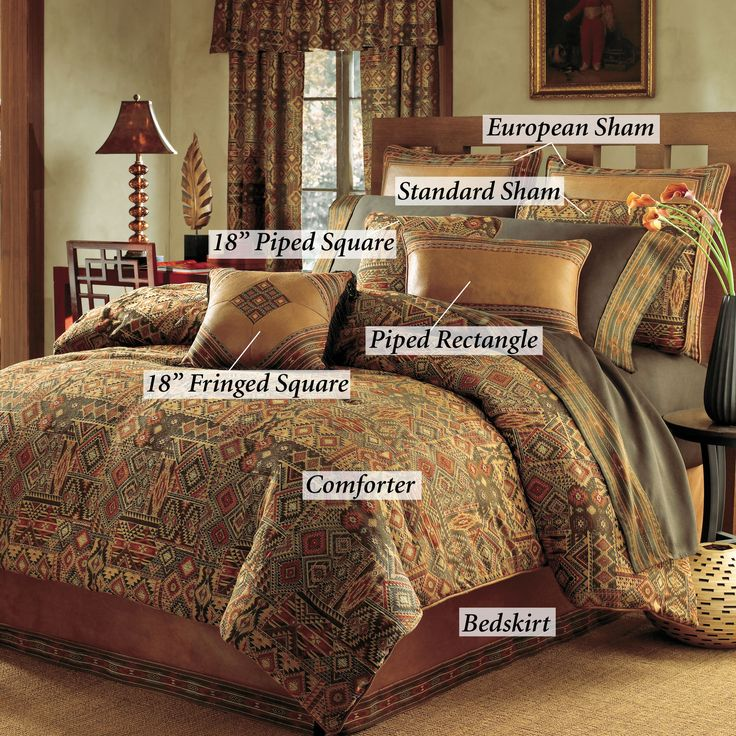 Yosemite comforter bedding sets by croscill ordered and for Decor definition