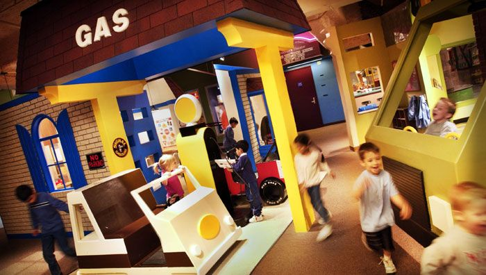 Cincinnati Museum Center - especially the Children's Museum!