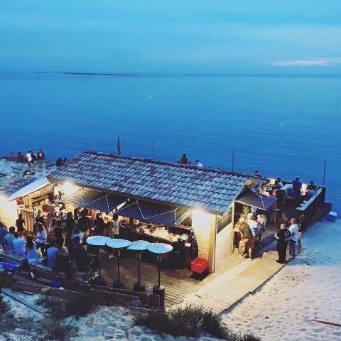 Le Blockhaus de nuit à la Teste de Buch ! #summer #time #beach