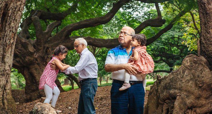 A Family Portrait Shoot at Cubbon Park