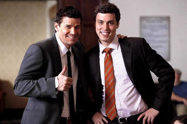 Agent Booth + Dr. Sweets = #Bromance #Bones