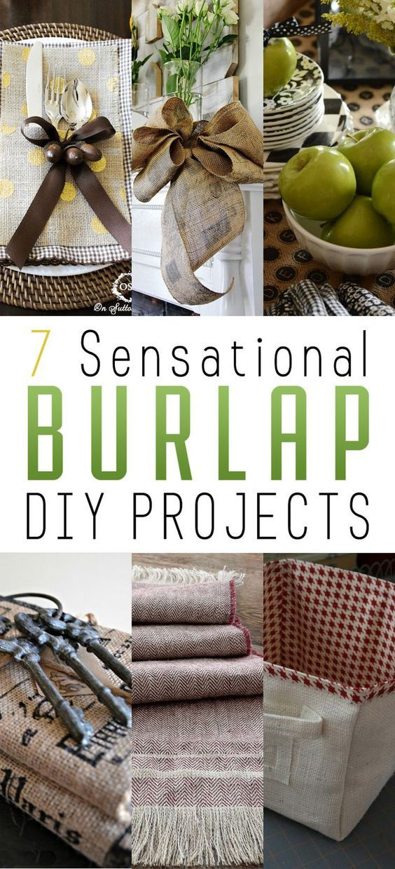 burlap craft ideas 7 sensational burlap diy projects to try in your home 1184