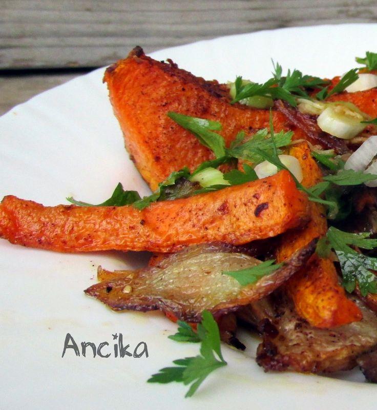 Ancika konyhája: Fűszerkeverék a őszi sült zöldségekhez: