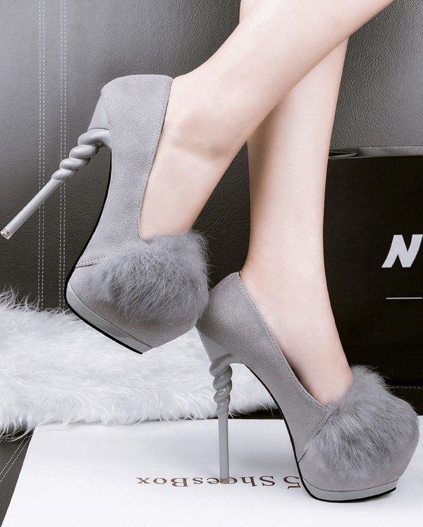 Thin High Heel Round Toe Shoes _Wholesale High Heels_WHOLESALE SHOES_Wholesale clothing, Wholesale Clothes Online From China
