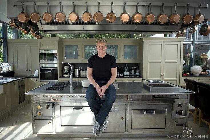 Professional Chef Home Kitchen Design Elegant Gordon In His Kitchen At Home Kitchen Remodel Layout Kitchen Remodel Countertops Kitchen Remodel Small
