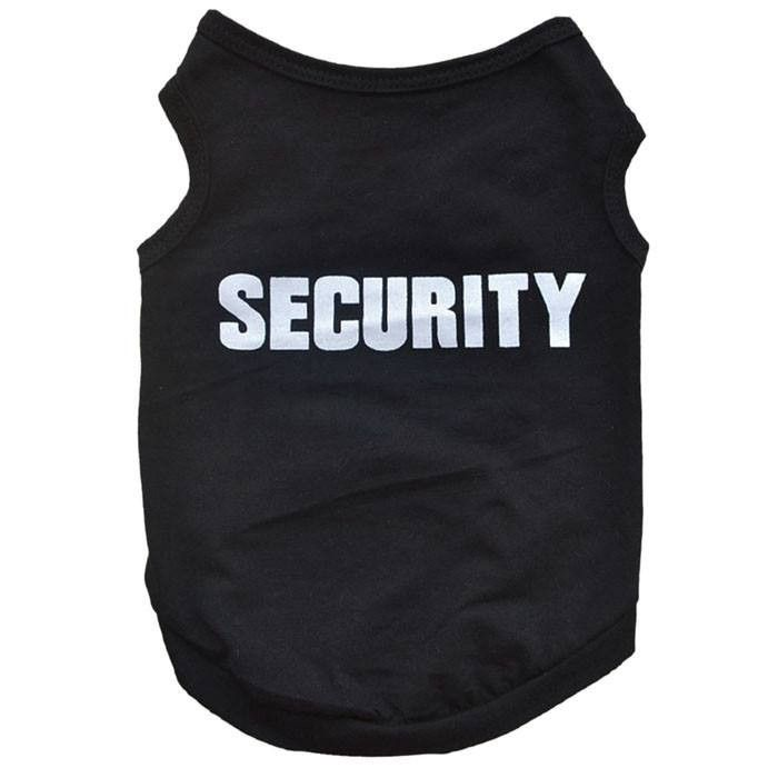 Security Uniform for Dogs