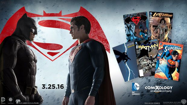 Score 5 digital DC Comics for FREE with Batman v Superman: Dawn of Justice ticket #FandangoFamily | Five Dollar Shake