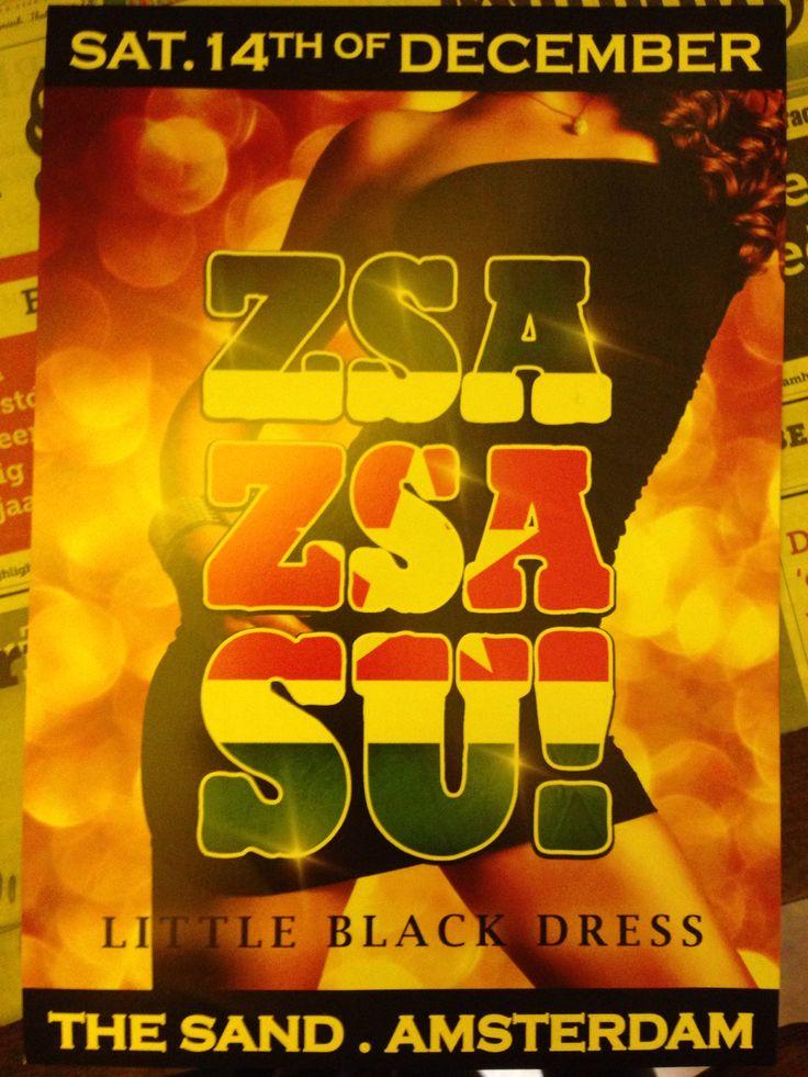 Zsa Zsa Su!