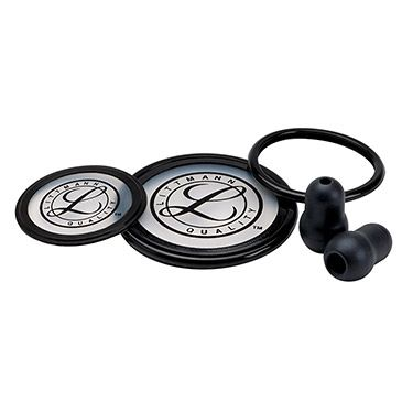 The Parts and Accessories by 3M™ Littmann® Cardiology III™ Stethoscope Spare Parts Kit is a smart choice for keeping back-ups on hand. Get all of the replacement parts you need for your Cardiology III™ stethoscope with this convenient kit.