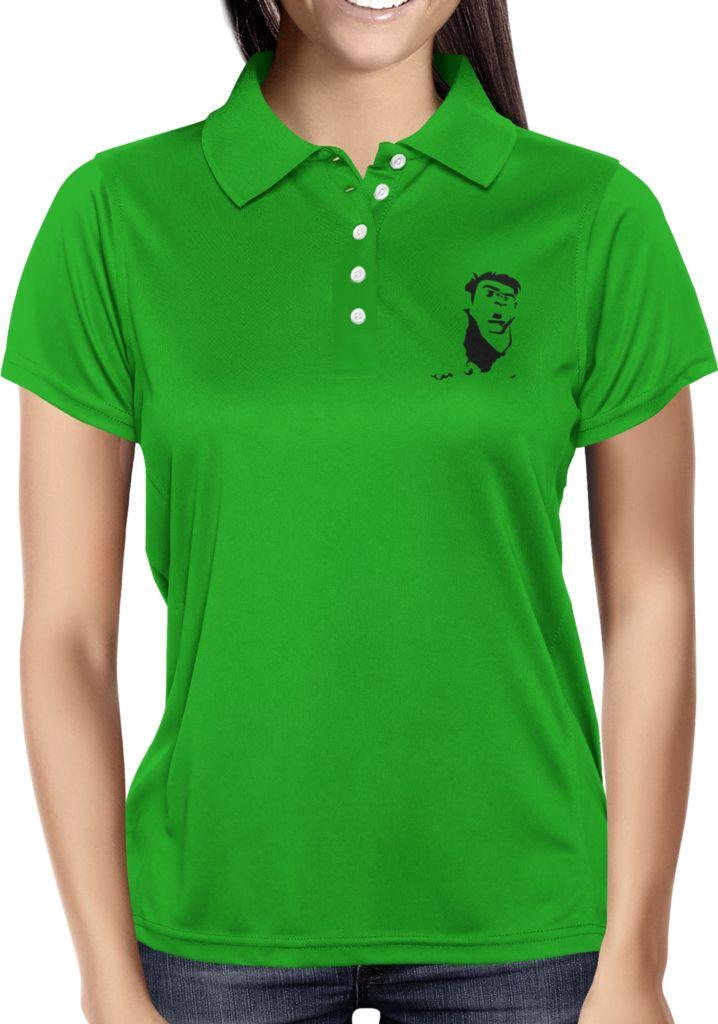 Green Blank - Dhaporshankh Girls Polos