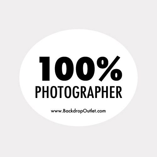 Photography sticker at www