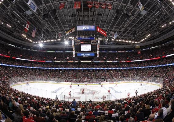 Scotiabank Place.  Home of the NHL Ottawa Senators! :)