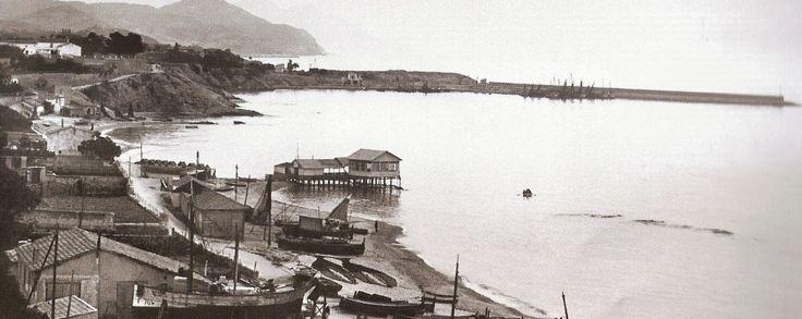 Port de Villajoyosa, début du 20 ème siècle.