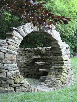 20 Best Images About Dry Stack Stone Wall Ideas On