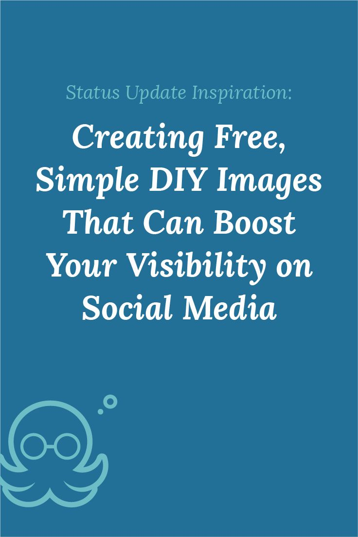 Whipping up a few custom simple diy images can do a lot to boost your blog's visibility on social media! Creating Free, Simple DIY Images for Social Sharing - Meet Edgar Blog