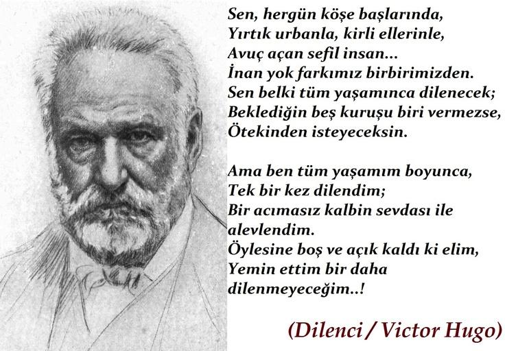 Victor Hugo'dan enfes bir şiir... - www.kitapyurdu.com