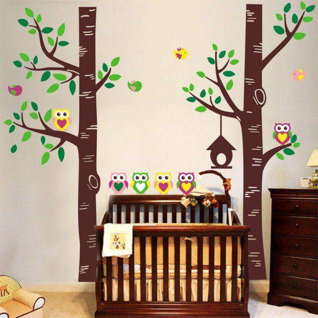 1000 id es sur le th me stickers muraux arbre sur pinterest stickers muraux murale et bouleau. Black Bedroom Furniture Sets. Home Design Ideas