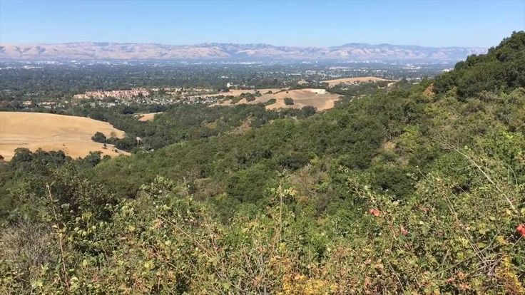 Silicon Valley bird's eye view, rancho san antonio