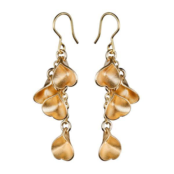 MADE IN HELSINKI, EIRA EARRINGS  Designer: Vesa Nilsson  material: bronze or silver