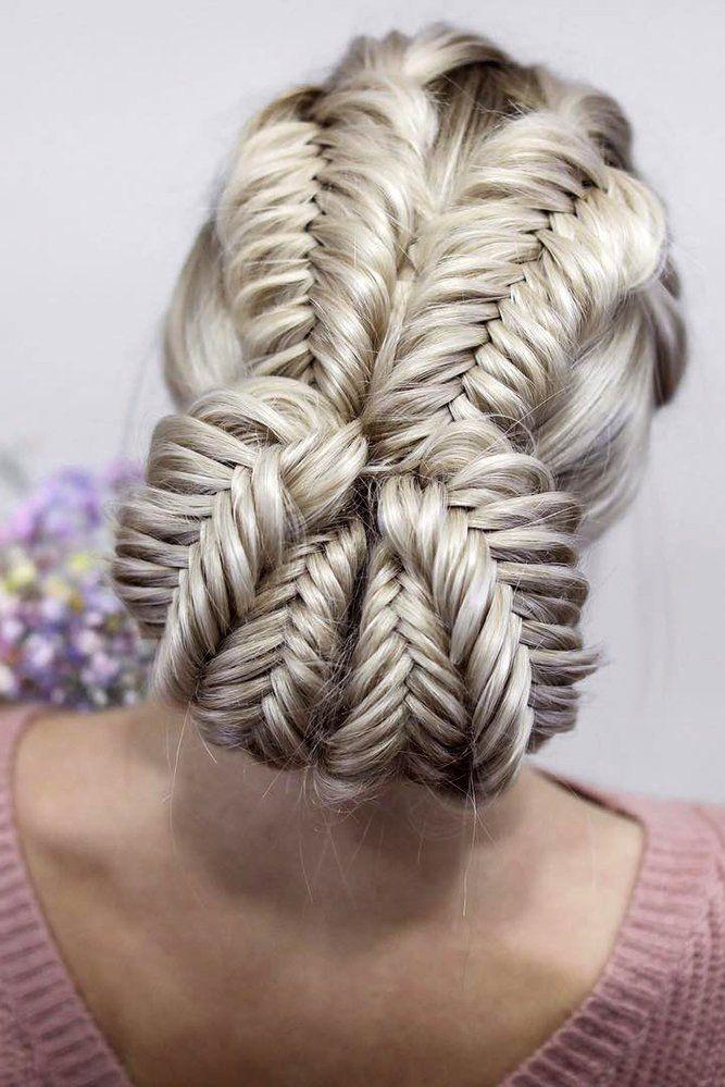 39 Best Pinterest Wedding Hairstyles Ideas Wedding Forward In 2020 Braided Hairstyles Updo Hair Styles Thick Hair Styles