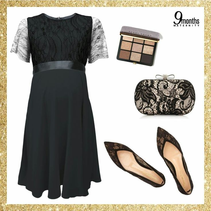 Friday is here, it's time to get the party started! A trendy little black dress is a must! The best part is to match it with lace. www.9monthsmaternity.com  Get the dress: Black Lace Chiffon Maternity Dress → http://www.9monthsmaternity.com/black-lace-chiffon-dress#.Wio-EVWWaUk  #9monthsmaternity #9months #maternitywear #maternityclothes #maternitydress #littleblackdress #dress #pakaianmengandung #friday #style #outfit #tgif #bajumengandung #bajumenyusui