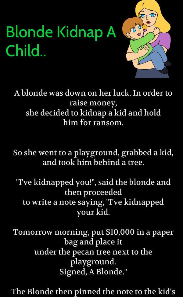 Would kidnapping funny quotes are