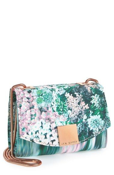 lust --> Ted Baker London 'Glitch' Floral Print Convertible Clutch available at #Nordstrom