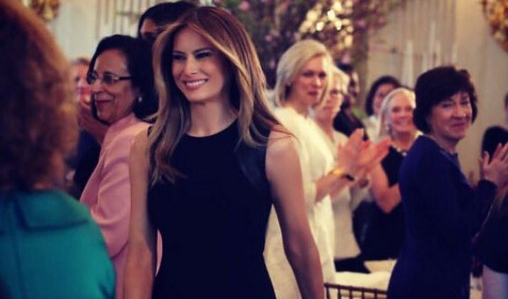 """Here's why… Liberals couldn't quite celebrate our First Lady on """"International Women's Day"""" because they were so triggered by what she was wearing. More accurately, they were triggered by what she WASN'T wearing. You see, Feminists think that today is a day to """"stick it to the man"""", so their symbol was to wear RED to prove their points. (Why? God only knows) Anyways, here is what our amazing first lady wore: Celebrated #InternationalWomensDay in the White House with incredible women…"""
