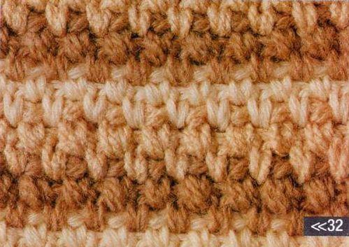 Patrón #1159: Punto Cerrado a Ganchillo | CTejidas [Crochet y Dos Agujas]