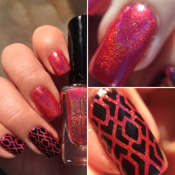 @vinailicious15 Argyle vinyl  @EmilyDeMolly Seeing Red m. China Glaze Liquid Leather