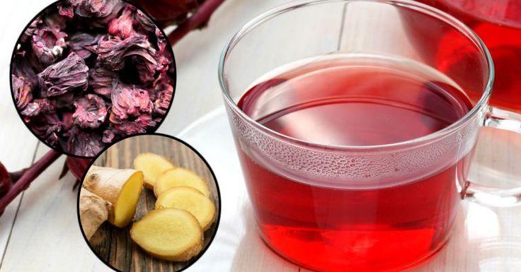 Chá de hibisco com gengibre: como fazer para secar barriga e acelerar metabolismo - Vix