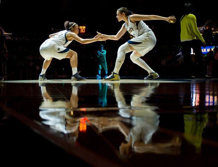 Kayla McBride  & Natalie Achonwa