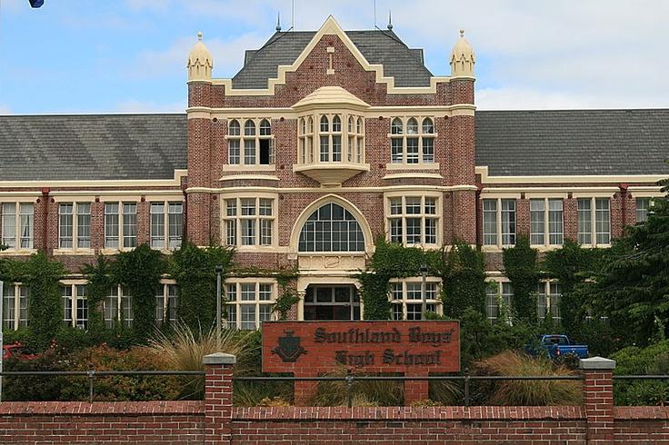 Invercargill - Southland Boys High School