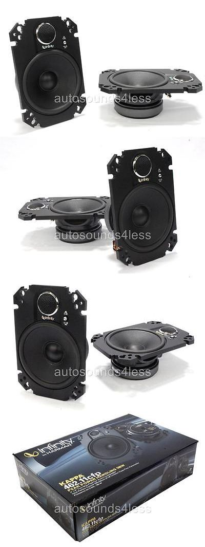 Car Speakers and Speaker Systems: Infinity Kappa 462.11Cfp 360 Watts 4 X 6 2-Way Car Plate Speakers 4 X6 New -> BUY IT NOW ONLY: $91.28 on eBay!