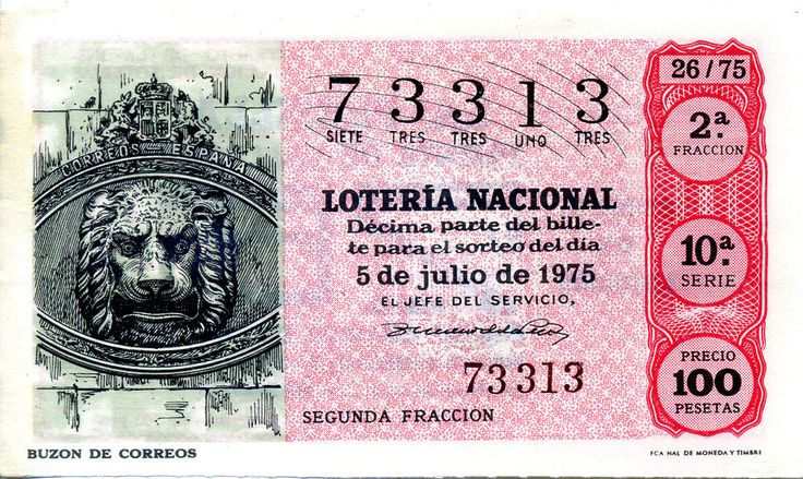 1000 images about lottery ticket on pinterest red cross - Buzon de correos ...