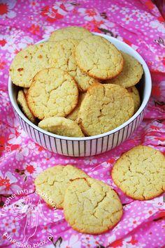 biszkopty jaglane, biszkopty bez jajek i bez glutenu, millet cookies