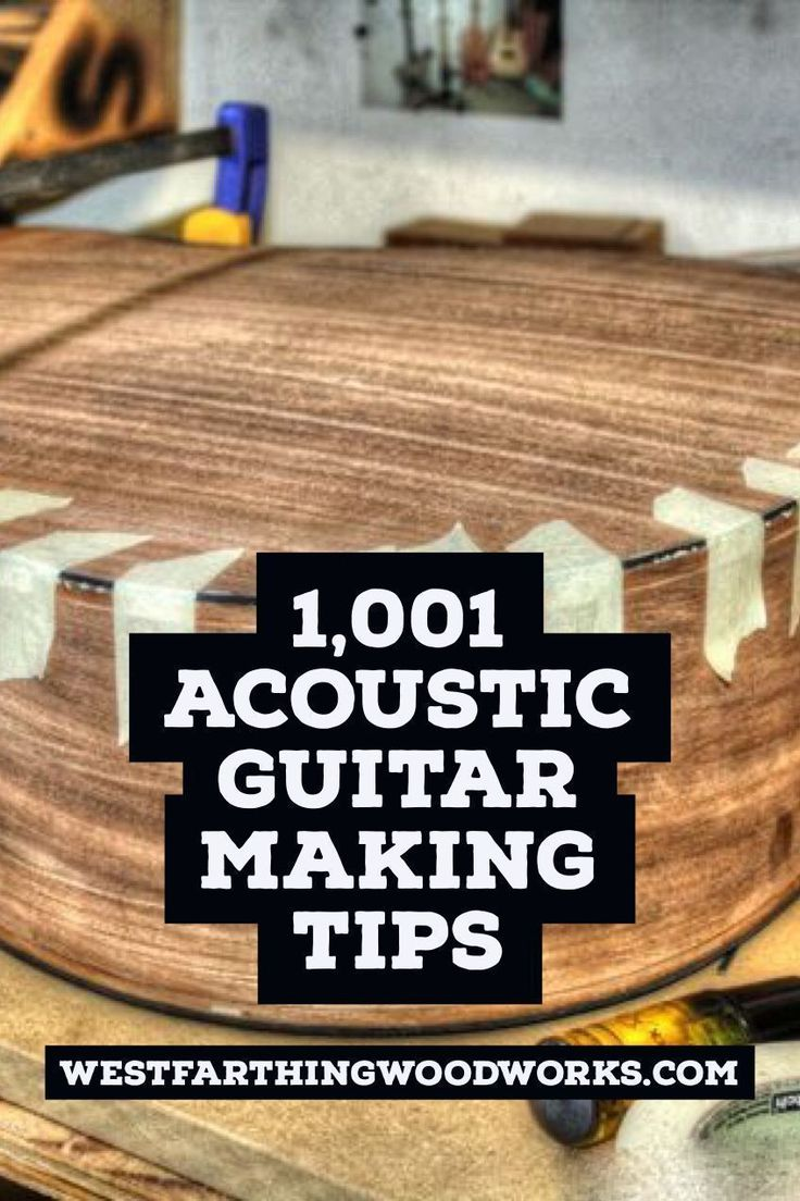 1001 acoustic guitar making tips for beginners is a great way to learn a ton of information about making guitars in a short time, and arm yourself against many of the small mistakes that new guitar builders make along the way. Happy building. #guitartips #guitarforbeginners
