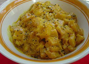 Pineapple curry : Sri Lanka Recipes : Malini's Kitchen