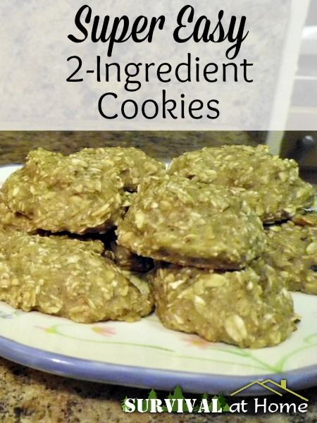 Let me tell you, these 2-ingredient cookies are amazingly delicious and super easy to make! You could even let the kids help!